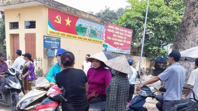 10h sáng: Người dân Đồng Tâm thả ông Đặng Văn Cảnh