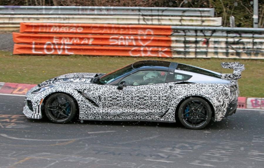 Corvette ZR1 2019 xuat hien tren duong thu nghiem hinh anh 2