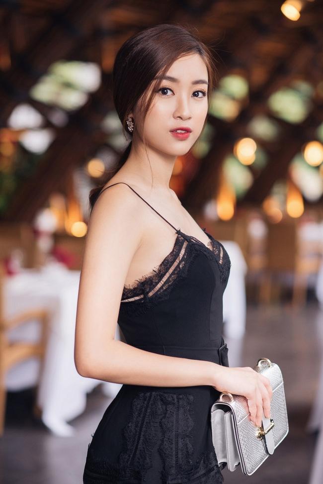 Hoa hậu Đỗ Mỹ Linh khoe vẻ đẹp trong sáng và nụ cười như mùa thu tỏa nắng - Ảnh 8.