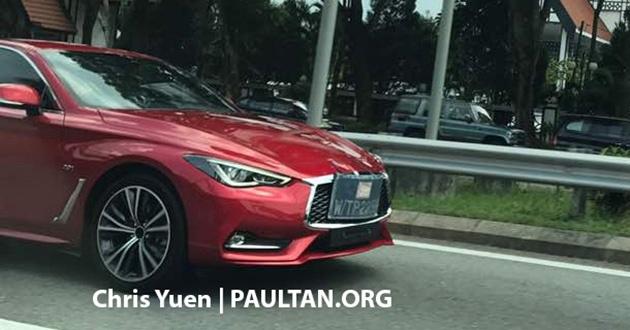Infiniti Q60 có thể sớm ra mắt tại Malaysia