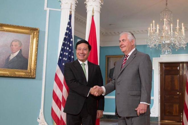 Ngoai truong My xac nhan Tong thong Trump se tham Viet Nam hinh anh 1