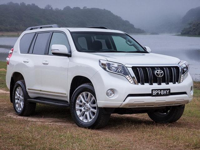 Toyota Prado bản đặc biệt 1,5 tỷ đồng ra mắt - 1