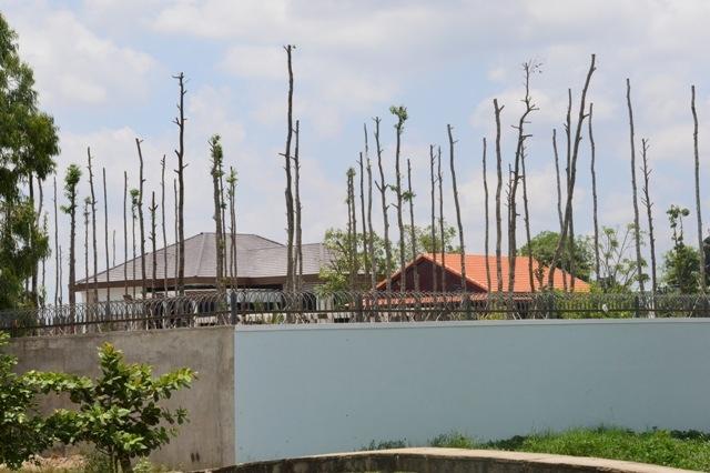 Khu biệt thự khủng của Tổng Giám đốc Công ty Cấp nước Sóc Trăng được xây dựng khi chưa được cấp phép.