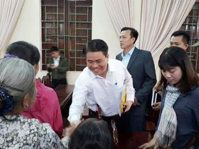3 cam kết của ông Nguyễn Đức Chung với người dân Đồng Tâm
