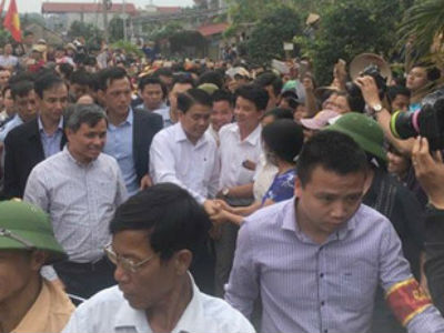 Ông Nguyễn Đức Chung cam kết không truy cứu hình sự toàn dân Đồng Tâm