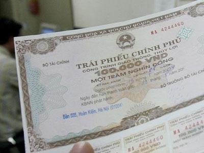 Chính phủ vay nợ hơn 74.600 tỷ qua phát hành trái phiếu