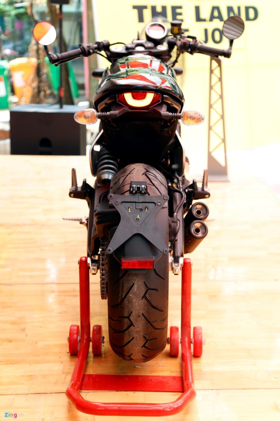 Chi tiet Ducati Scrambler Cafe Racer dau tien Viet Nam hinh anh 3