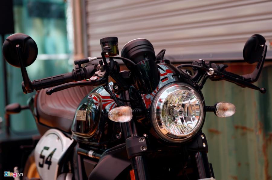 Chi tiet Ducati Scrambler Cafe Racer dau tien Viet Nam hinh anh 4