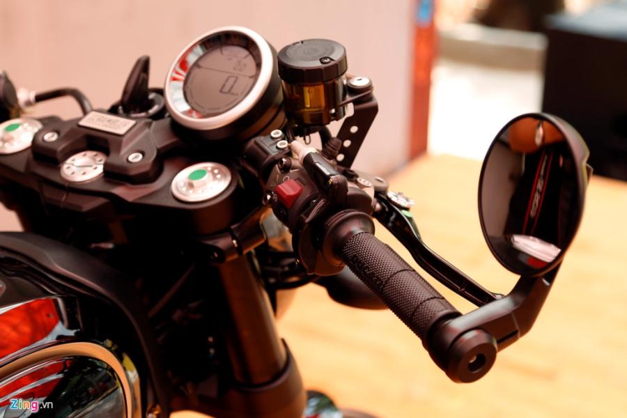 Chi tiet Ducati Scrambler Cafe Racer dau tien Viet Nam hinh anh 5