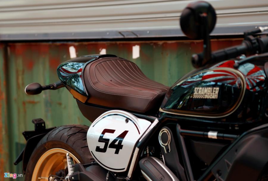 Chi tiet Ducati Scrambler Cafe Racer dau tien Viet Nam hinh anh 7