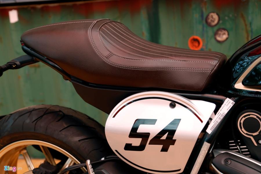 Chi tiet Ducati Scrambler Cafe Racer dau tien Viet Nam hinh anh 9