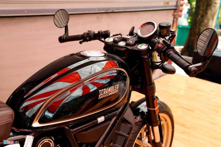 Chi tiet Ducati Scrambler Cafe Racer dau tien Viet Nam hinh anh 11