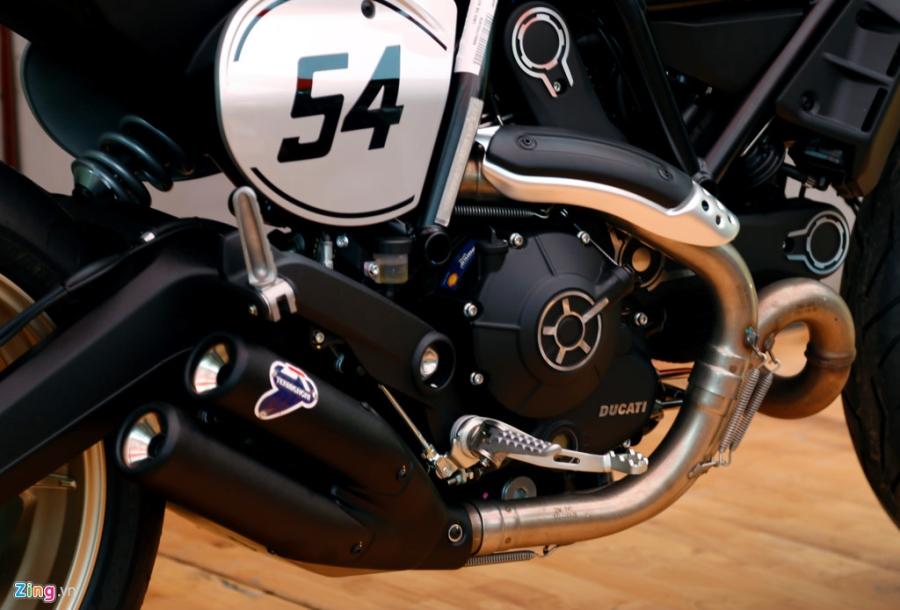 Chi tiet Ducati Scrambler Cafe Racer dau tien Viet Nam hinh anh 12