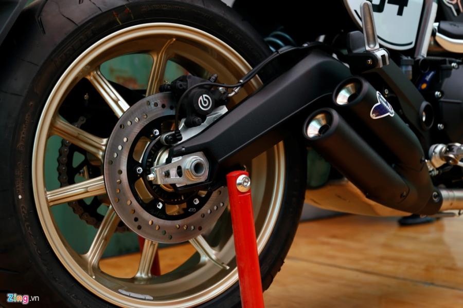 Chi tiet Ducati Scrambler Cafe Racer dau tien Viet Nam hinh anh 14