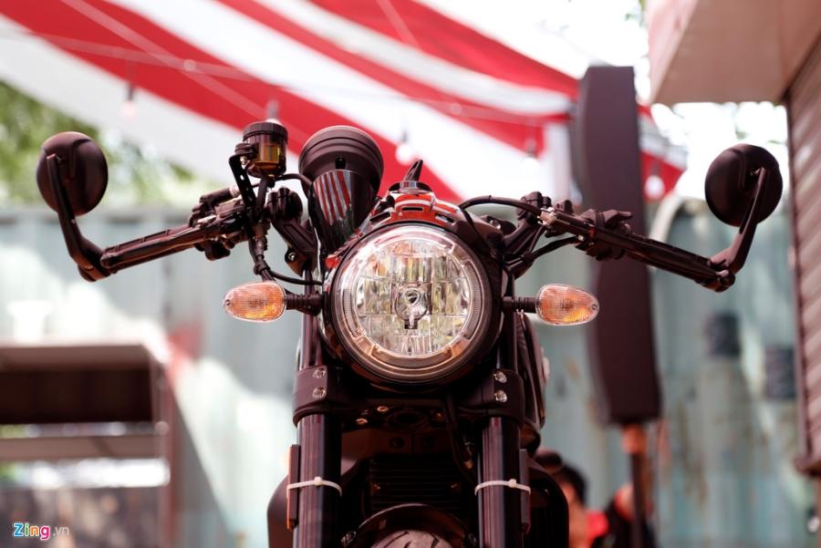 Chi tiet Ducati Scrambler Cafe Racer dau tien Viet Nam hinh anh 16