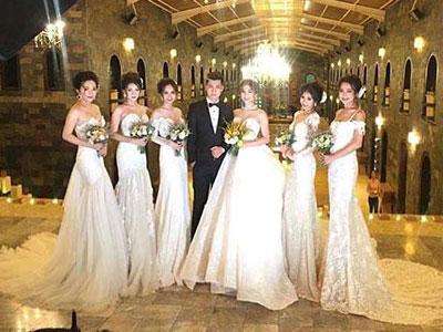 Lâm Chi Khanh khoe hậu trường ảnh cưới, ai cũng ngỡ ngàng hết cỡ vì dàn phù dâu