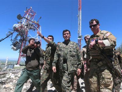 Thổ Nhĩ Kỳ ném bom đồng minh của Mỹ tại Iraq, Syria