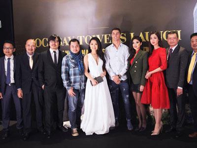 Hoa hậu Mỹ Linh tham dự sự kiện có Cristiano Ronaldo tại Tây Ban Nha