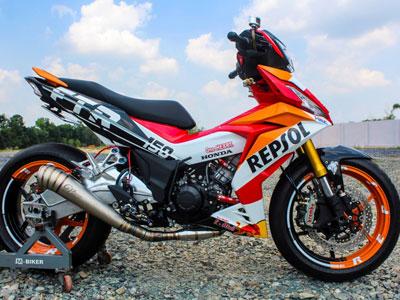 Honda Winner 150 độ đồ chơi khủng của biker Tây Ninh