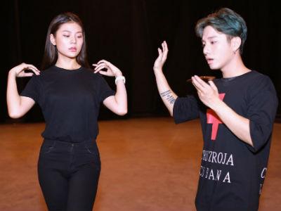 Chúng Huyền Thanh The Face xuất hiện trong chương trình thi hát