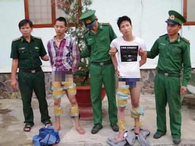 Biên phòng Tây Ninh phối hợp với Công an Campuchia bắt vụ tàng trữ, vận chuyển 21 kg ma túy đá