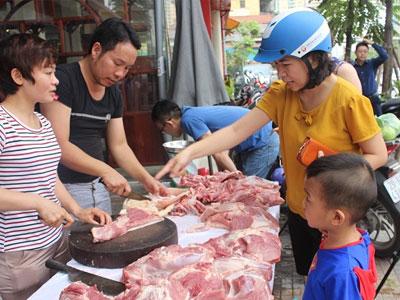 Thịt ngon, rẻ, người Hà Nội