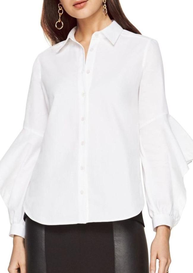 5 kiểu biến tấu giúp áo sơmi trắng chẳng còn vô vị và nhàm chán nữa - Ảnh 7.