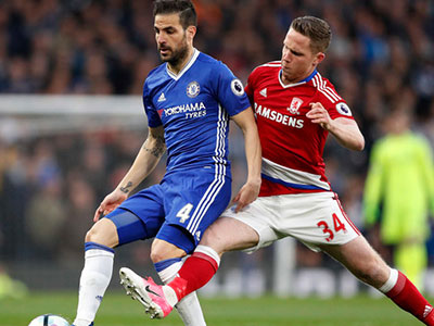 Chelsea thổi bay Boro, cách chức vô địch một chiến thắng
