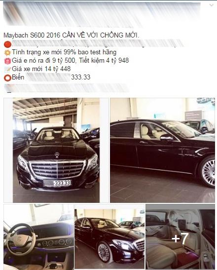 Mercedes-Maybach S600 biển ngũ quý 3 rao bán 9,5 tỷ Đồng - Ảnh 4.