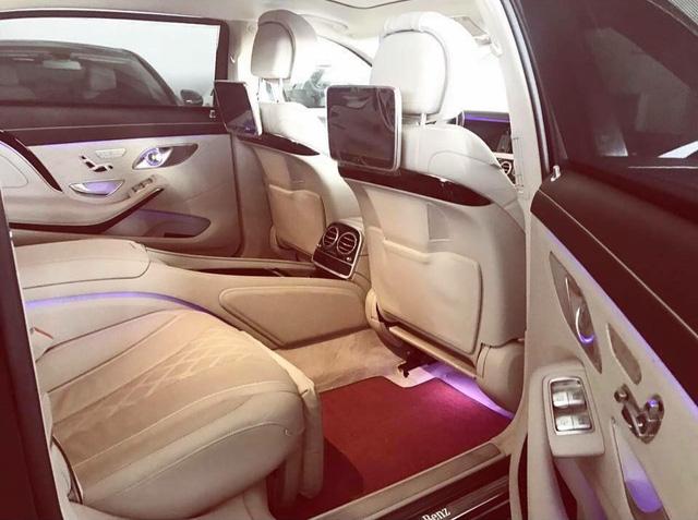 Mercedes-Maybach S600 biển ngũ quý 3 rao bán 9,5 tỷ Đồng - Ảnh 6.