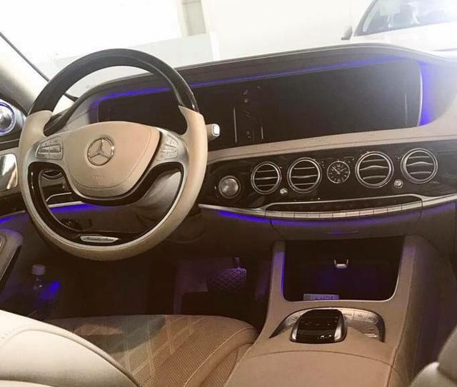 Mercedes-Maybach S600 biển ngũ quý 3 rao bán 9,5 tỷ Đồng - Ảnh 10.
