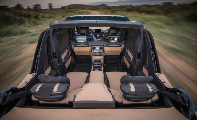 SUV siêu sang Mercedes-Maybach G650 Landaulet bị làm giá đến 32,1 tỷ Đồng - Ảnh 3.