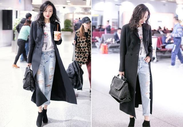 My nhan Hoa ngu dien jeans rach day ca tinh hinh anh 11