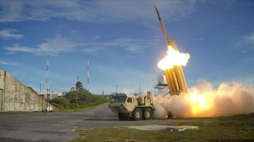 Tên lửa vừa thử nghiệm của Triều Tiên xuyên thủng THAAD - ảnh 1