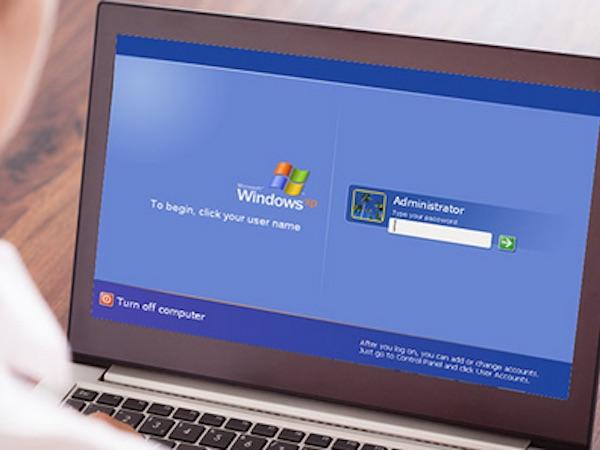 Windows XP dễ bị