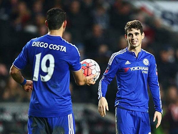 Diego Costa được đồng đội cũ rủ rê sang Trung Quốc