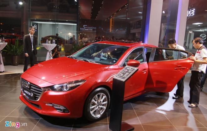 Mazda 3 2017 ra mat o Viet Nam, tang 30 trieu so voi ban cu hinh anh 2