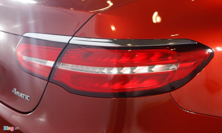 Chi tiet Mercedes GLC Coupe gia 2,9 ty vua ban tai Viet Nam hinh anh 9