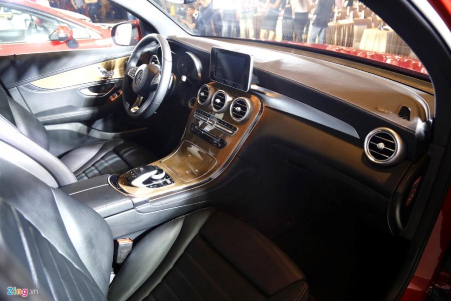 Chi tiet Mercedes GLC Coupe gia 2,9 ty vua ban tai Viet Nam hinh anh 11