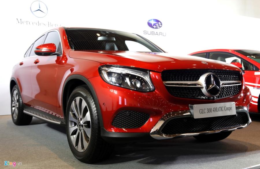 Chi tiet Mercedes GLC Coupe gia 2,9 ty vua ban tai Viet Nam hinh anh 13