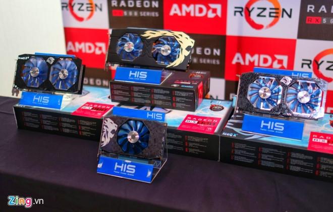Chip AMD Ryzen va card do hoa Radeon RX 500 ra mat o VN hinh anh 3