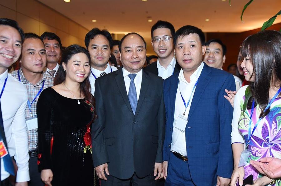 Thủ tướng Nguyễn Xuân Phúc, Nguyễn Xuân Phúc, đối thoại doanh nghiệp