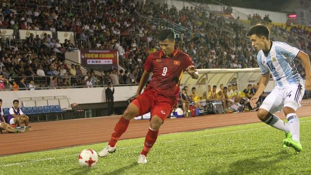 U20 Việt Nam đang mờ về bất ngờ tại VCK World Cup U20 (ảnh: Trọng Vũ)