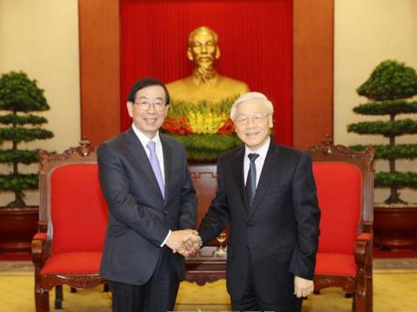 Tổng Bí thư: Hàn Quốc là đối tác quan trọng hàng đầu của Việt Nam về đầu tư, thương mại