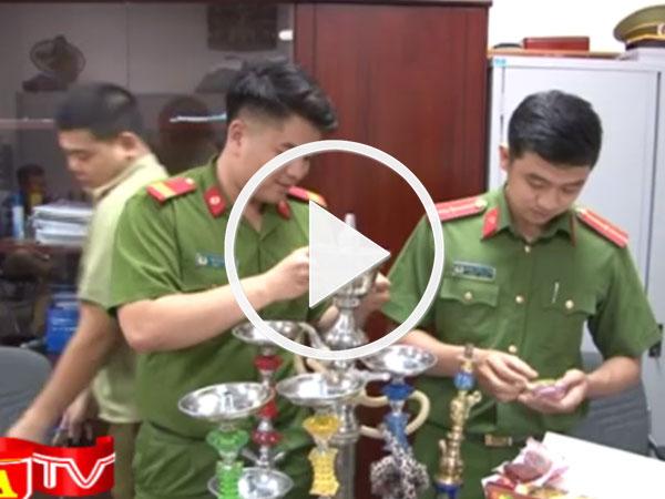 Video: Công an Hà Nội thu giữ 200 bao shisha không rõ nguồn gốc xuất xứ