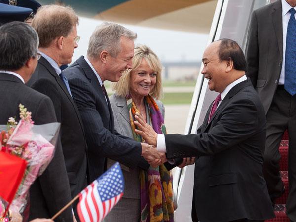 Thủ tướng Nguyễn Xuân Phúc được chào đón nồng nhiệt ở Washington DC