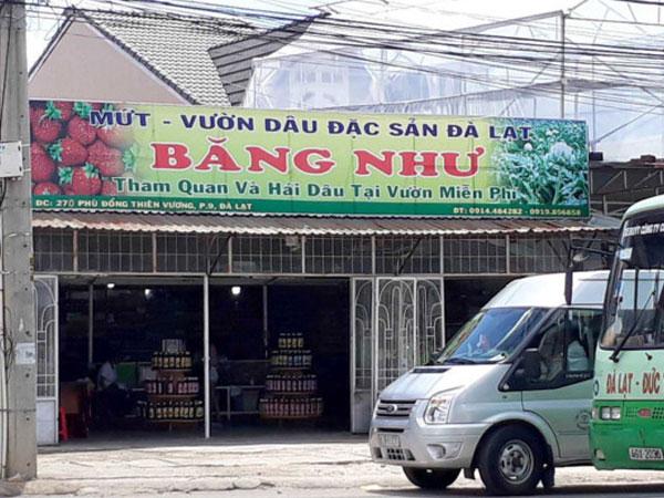 Xử phạt hành chính chủ tiệm mứt ở Đà Lạt đánh khách