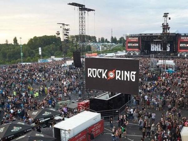 Sợ khủng bố, Đức sơ tán khán giả tại lễ hội nhạc rock