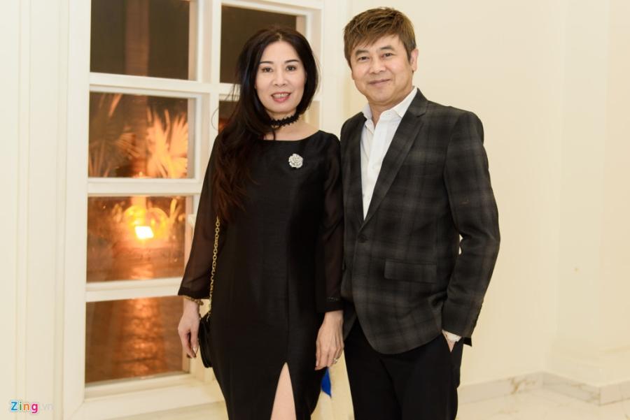 Quang Le, Thai Chau du tiec cuoi cua ca si Duy Truong hinh anh 3