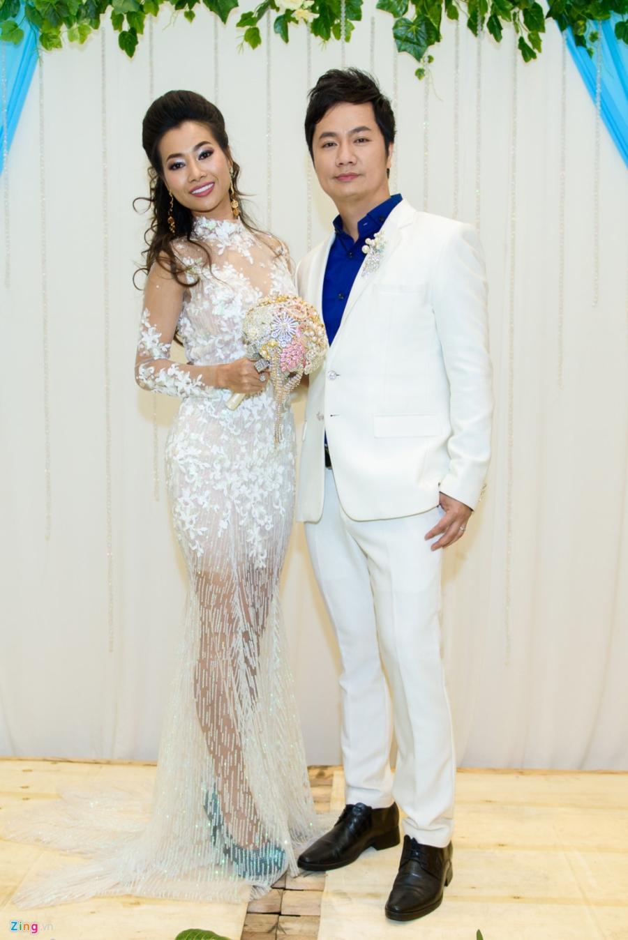 Quang Le, Thai Chau du tiec cuoi cua ca si Duy Truong hinh anh 7